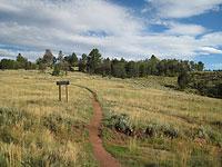 Wyoming Headquarters Trail