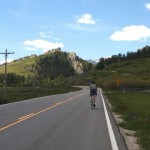 Leisurely ride near home, June 12.