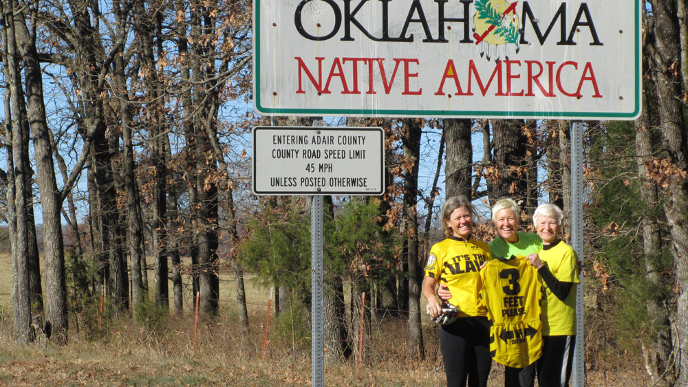 Press Release for Oklahoma West-to-East Record Attempt