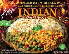 Indian Mattar Tofu package