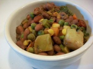 round 2 red beans with more veggies