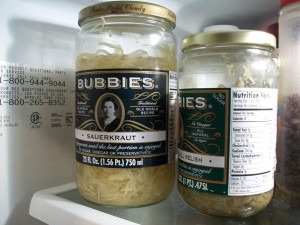 Bubbies Sauerkraut and Dill Pickle Relish