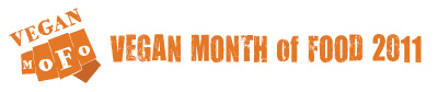 Vegan Month of Food Logo