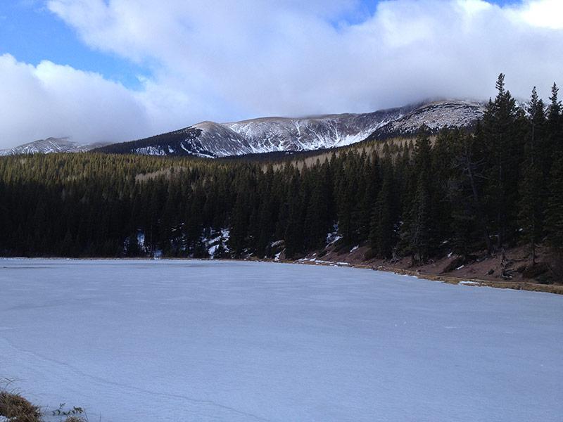 Blue Lake looking west