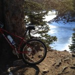 Bear Lake and bike