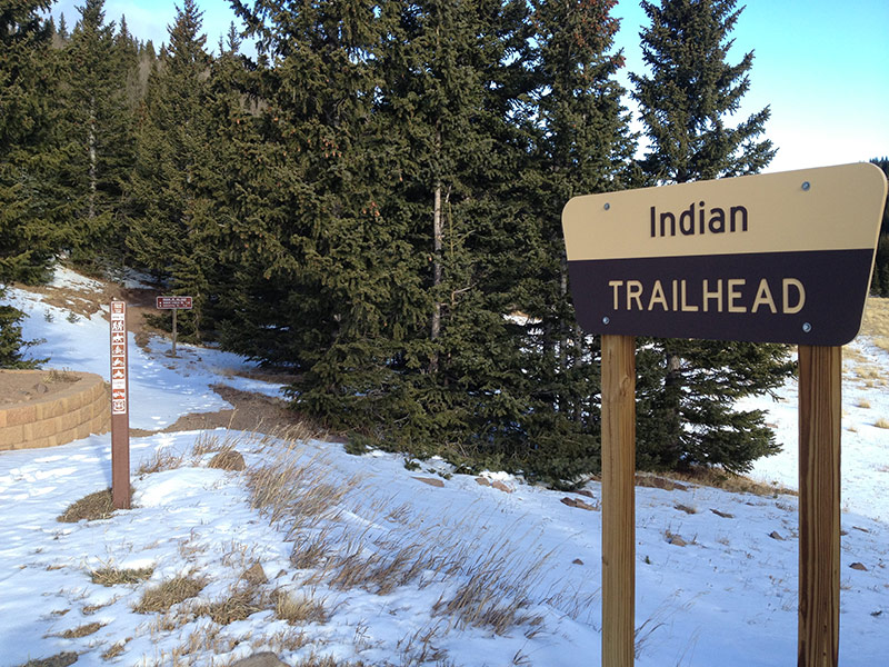 Indian Trailhead