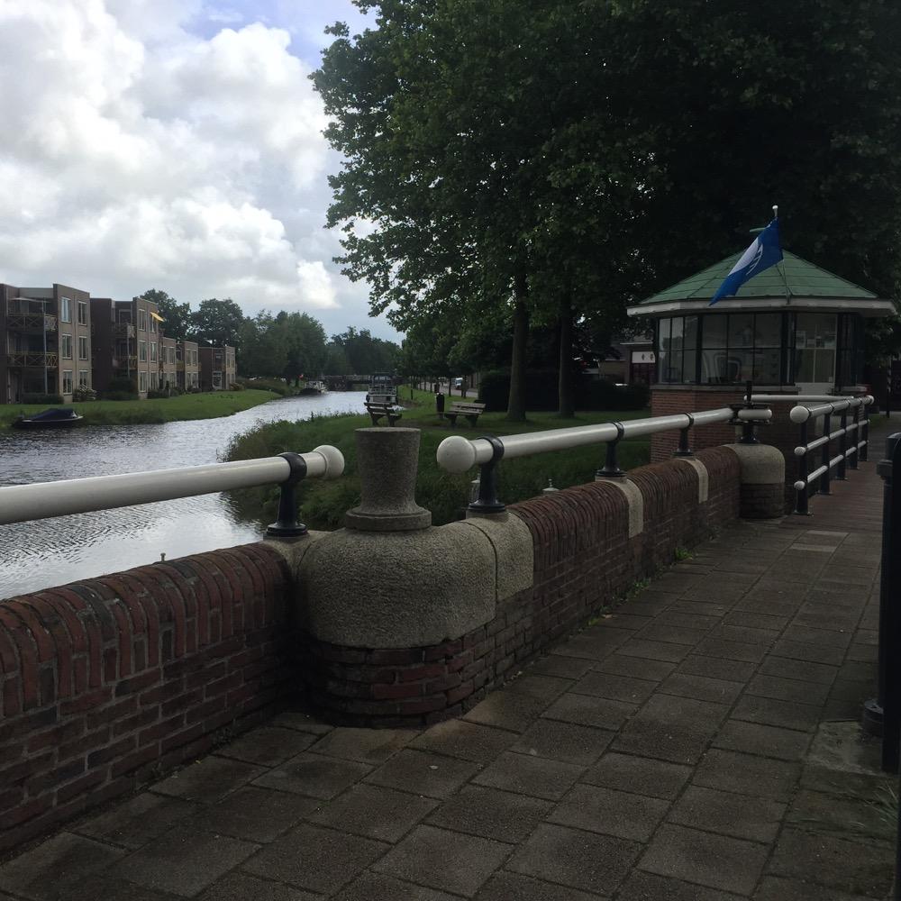 Stadsgracht, Bolsward, Friesland
