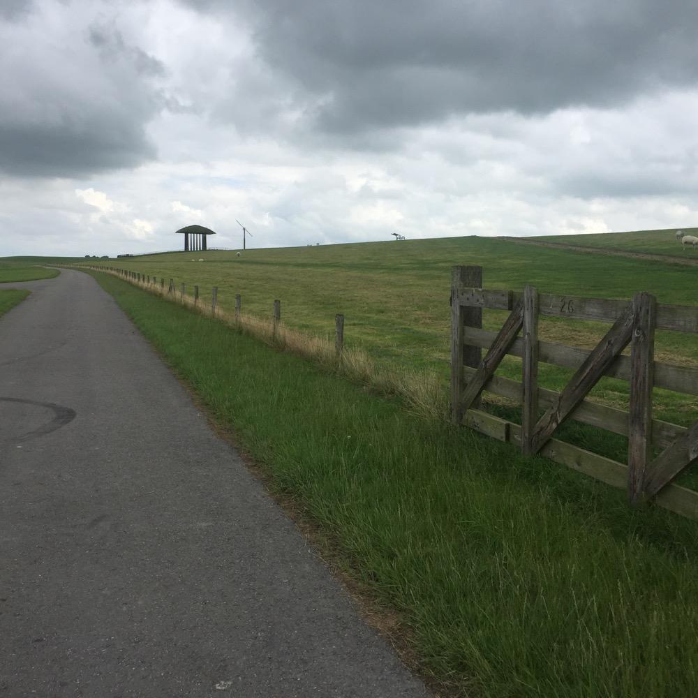 fietspad, Marrum, Friesland