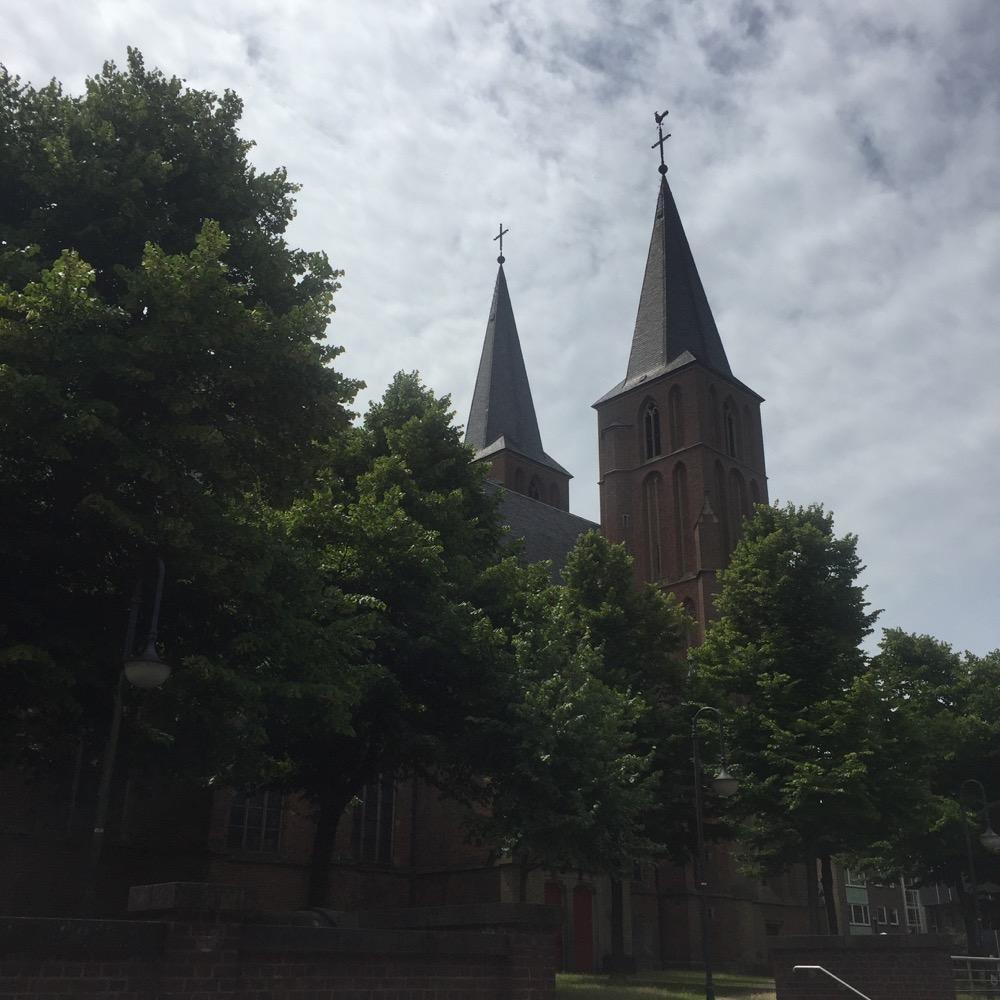 kerk Kleve, Duitsland